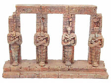 Ancient Pharaoh Egyptian Columns Aquarium Ornament Fish Tank Decoration