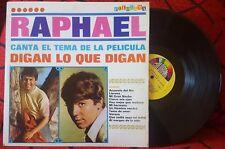RAPHAEL **Digan Lo Que Digan** VERY RARE COVER Venezuela LP JOSE LUIS PERALES