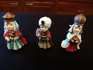 DILLARDS 20013 CHRISTMAS NATIVITY THREE WISE MEN KINGS FIGURES