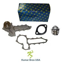 New Kubota V1702 WATER PUMP with Thermostat