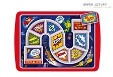 Dinner Winner - Super Hero Melamine BPA Free Dishwasher-Safe Size 30 cm x 21 cm