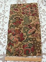 Antique French Cotton Jacquard Tapestry Fabric Sample~Ethnic~Reserved