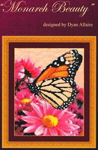 Kustom Krafts MONARCH BEAUTY Cross Stitch Booklet by Dyan Allaire ~ butterfly