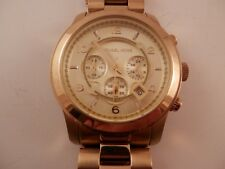 Michael Kors Runway Gold- tone  Watch MK8077
