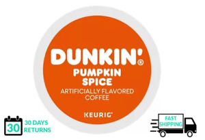 Dunkin Pumpkin Spice Keurig Coffee K-cups YOU PICK THE SIZE