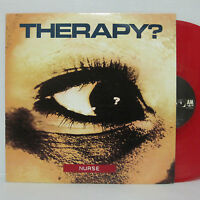 THERAPY? - Nurse LP 1992 US ORIG Red Vinyl Jesus Lizard NIRVANA HELMET UNSANE