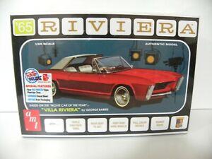 "AMT 1/25 1965 Buick Riviera (George Barris ""Villa Riviera"") New & Sealed"