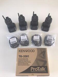 4 X Talkie-walkie  Kenwood TK-3301  neuf, securité, gardiennage, la chasse