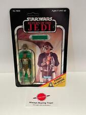 1983 Lando Skiff MOC ROTJ 65 Back Jedi Vintage Star Wars Kenner Unpunched