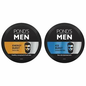POND'S Men Energy Burst Face Gel Healthy Hydrated Energized Skin, 55 g And POND'