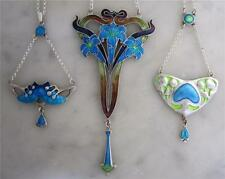 Enamel Silver Other Reproduction Vintage Jewellery