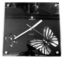 PERFECT - Stylish Clock With Butterfly, Silent Sweep Second Hand / Non-Ticking