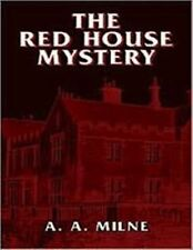 THE RED HOUSE MYSTERY by A. A. Milne - Unabridged Audiobook on 1 MP3 CDs