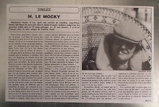 Article Jean Pierre Mocky 1982, cinema  , clipping