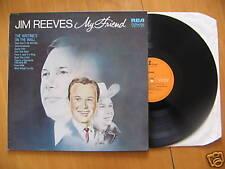 LP JIM REEVES - MY FRIEND (original US edit)
