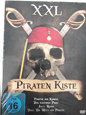 Piraten Kiste XXL - Schwarze Pirat, Karibik, Jolly Roger, Blackbeard Störtebeker