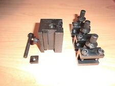 Schnellwechselstahlhalter neu f. EMCO Unimat 3 +4+ PC quick change holder