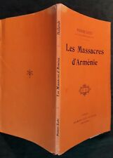 Pierre LOTI, Les Massacres d'Arménie (Paris, 1918) - EO, 1/100 num. sur Hollande