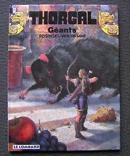 Thorgal - EO 22 : Géants - Rosinski, Van Hamme