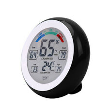 Shape High Quality Indoor Hygrometer Humidity Monitor Thermometer Touchscreen