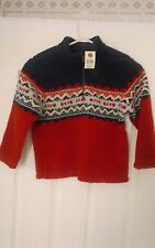 "Genuine Kids by Oshkosh Boys Size 5 pullover sweater-hgt-45"",waist 21 1/2"" NWT"