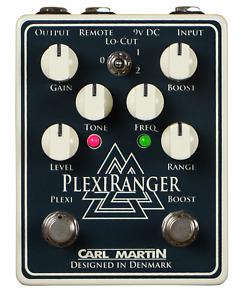Carl Martin PlexiRanger Overdrive and Boost Pedal