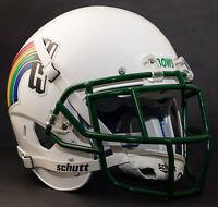*CUSTOM* HAWAII RAINBOW WARRIORSSchutt XP Authentic GAMEDAY Football Helmet