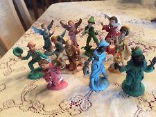 Stunning! Vintage Christmas Nativity Set Depose Italy Figurines, Lot of 12