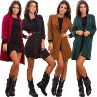 Blazer donna giacca lunga elegante giacchetto oversize bottoni sexy GI-17239