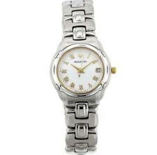 Ladies Accutron by Bulova 28M04 Barcelona Stainless Steel Bracelet Watch