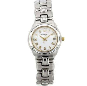 Ladies Accutron by Bulova 28M04 Barcelona Stainless Steel Bracelet Watch
