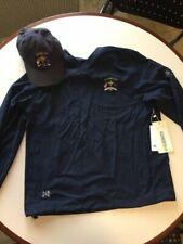 2008 Valhalla Ryder Cup Rain Windbreaker Mens Blue V-Neck Pullover -Size M