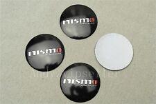 4Pcs For Nismo Best Aluminum Alloy Car Vehicle Wheel Center Caps Sticker Emblems