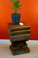 Side Table Books Stack Plant Stand Plant Stand Columns Foldable Storage Space