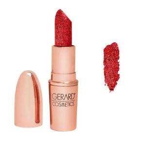 Gerard Cosmetics Lipstick - Cupid (Glittering Red) NIB