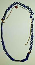 !!! RAR African Glass  Beads !!! 78 cm 78 pc 92 gm