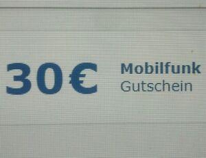 Check24.de 30€ Mobilfunk Gutschein 24/7 Sofortversand Handyvertrag Rabatt Code