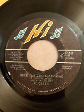 Al Green - Here I Am (Come And Take Me - Hi Records 2247
