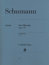 Henle Urtext Schumann Four Marches Opus 76