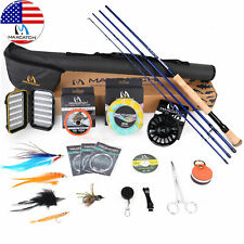 Maxcatch Saltwater Fly Fishing Rod and Reel Combo 9Ft 8-10Wt Complete Outfit
