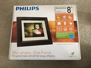 """Philips DIGITAL REMOTE PHOTO FRAME 8"""" LED New In Box Free Shipping 800x600"""