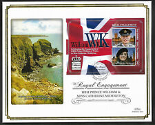 Gambia 2011 Large FDC Engagement of William & Catherine Ltd Ed 35/250
