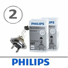 Set of 2 Philips H7 Standard Halogen Replacement Headlight Bulb, 12972PROQC1