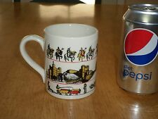 THE GREAT CRUSADE, CHRISTIANS VS. MUSLIM Images, Ceramic Coffee  Cup, Vintage