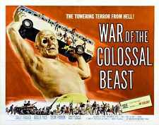 War Of Colossal Beast Poster 02 Metal Sign A4 12x8 Aluminium