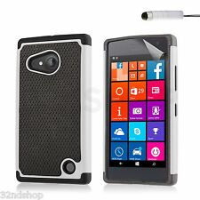 32nd Shock Proof Heavy Duty Defender Case Cover for Nokia LUMIA 730 / 735 Film