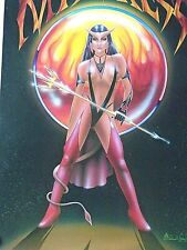 "Satans Mistress - Fantasy art Pin-up poster / new cond.- 22 x 33"" Last One"