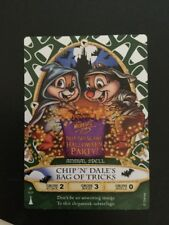 SOTMK MNSSHP Sorcerers Magic Kingdom 2012 Chip 'N Dale Halloween Party Card 01/p