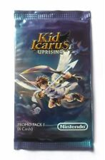kid Icarus Uprising Ar Cards promo pack 1 new sealed very rare