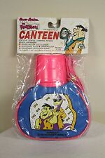 Fred Flintstones Dino Toy Canteen Hanna Barbera Plastic 1991 Retro Rare